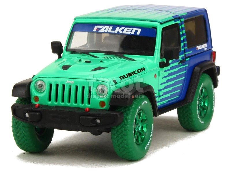 6277 Jeep Wrangler Rubicon 2014 GREEN MACHINE