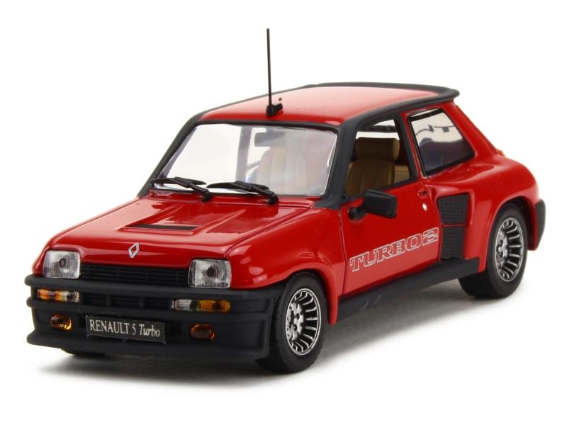 renault r5 turbo 2 1983 universal hobbies 1 43 autos miniatures tacot. Black Bedroom Furniture Sets. Home Design Ideas