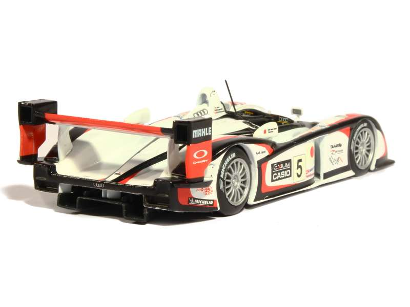 audi r8 le mans 2004 mod le presse al 1 43 autos miniatures tacot. Black Bedroom Furniture Sets. Home Design Ideas
