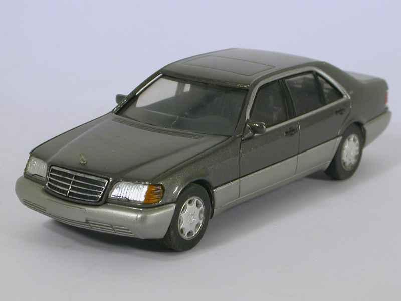 mercedes 600 sel v12 w140 herpa 1 43e 1 43 autos miniatures tacot. Black Bedroom Furniture Sets. Home Design Ideas