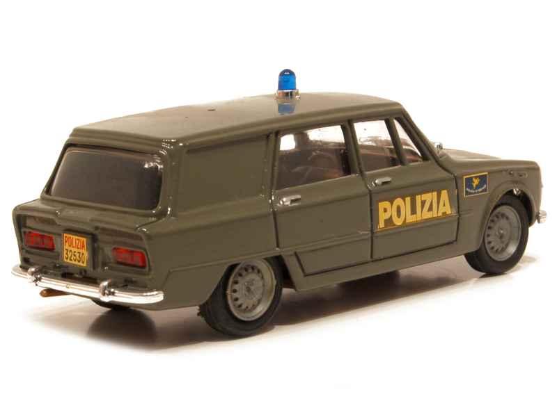 alfa romeo giulia break police 1962 progetto k 1 43 autos miniatures tacot. Black Bedroom Furniture Sets. Home Design Ideas