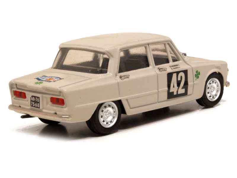 alfa romeo giulia ti tour de france 1964 progetto k 1 43 autos miniatures tacot. Black Bedroom Furniture Sets. Home Design Ideas
