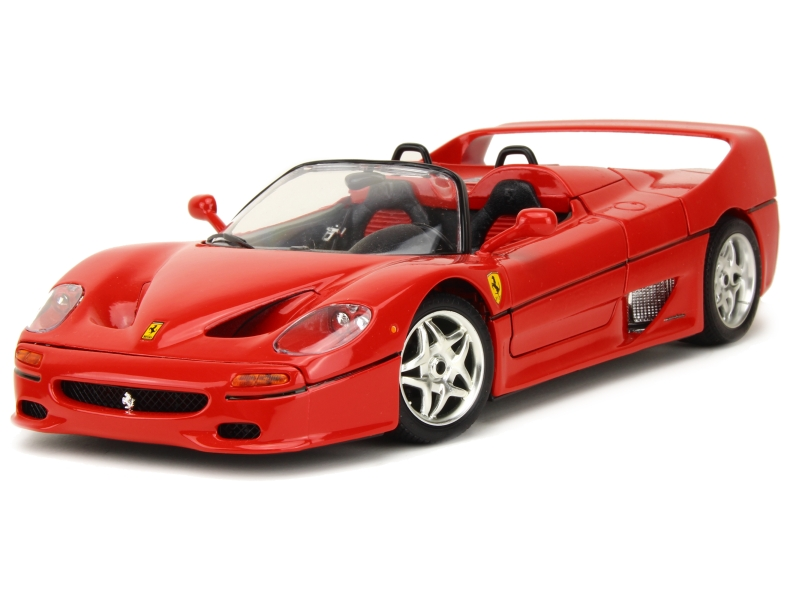 ferrari f50 spyder 1995 bburago italie 1 18 autos miniatures tacot. Black Bedroom Furniture Sets. Home Design Ideas