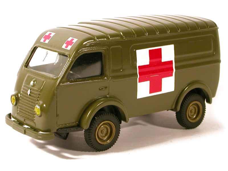 renault 1000 kg 4x4 ambulance eligor 1 43 autos miniatures tacot. Black Bedroom Furniture Sets. Home Design Ideas