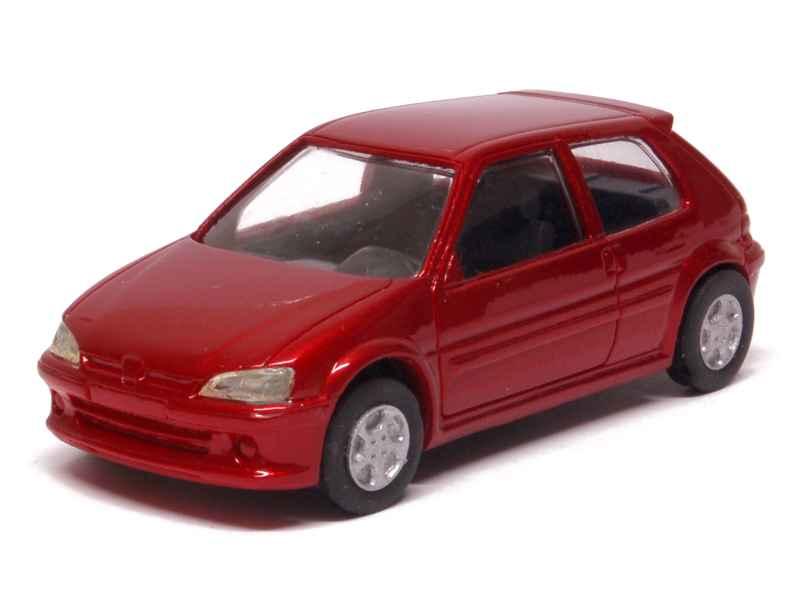 peugeot 106 s16 1997 prestige 1 43 autos miniatures tacot. Black Bedroom Furniture Sets. Home Design Ideas
