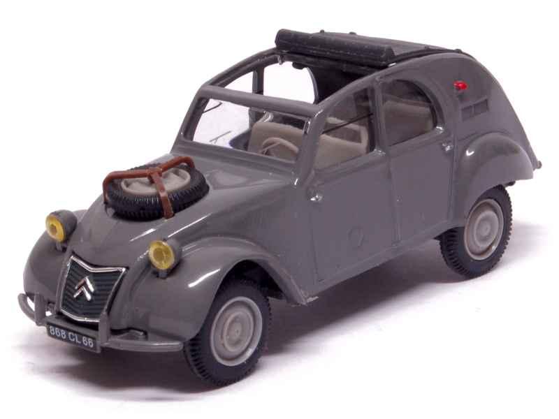 citro n 2cv sahara 4x4 1961 mod le presse h 1 43 autos miniatures tacot. Black Bedroom Furniture Sets. Home Design Ideas