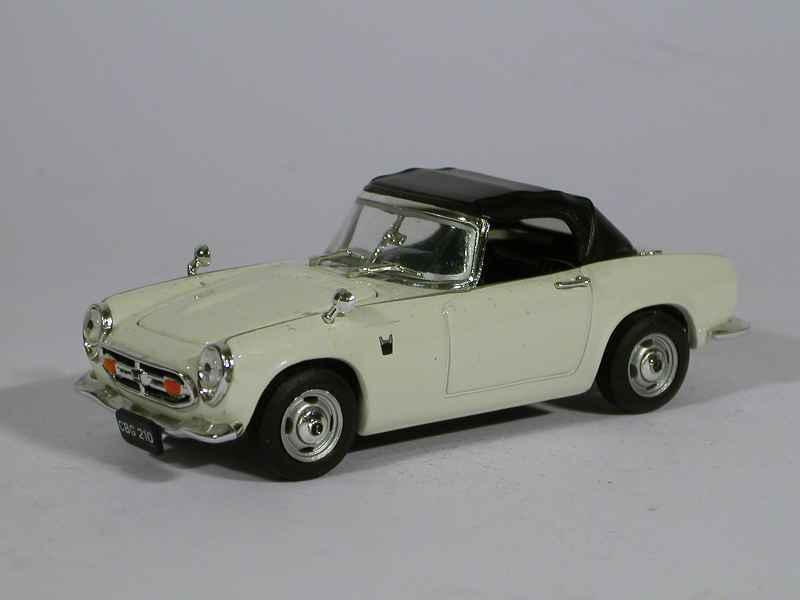 honda s800 cabriolet 1965 vitesse 1 43 autos miniatures tacot. Black Bedroom Furniture Sets. Home Design Ideas