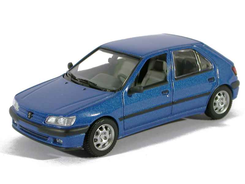 peugeot 306 berline 5 doors 1995 minichamps 1 43 autos miniatures tacot. Black Bedroom Furniture Sets. Home Design Ideas