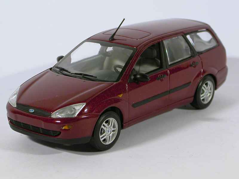 ford focus break 1998 minichamps 1 43 autos miniatures tacot. Black Bedroom Furniture Sets. Home Design Ideas