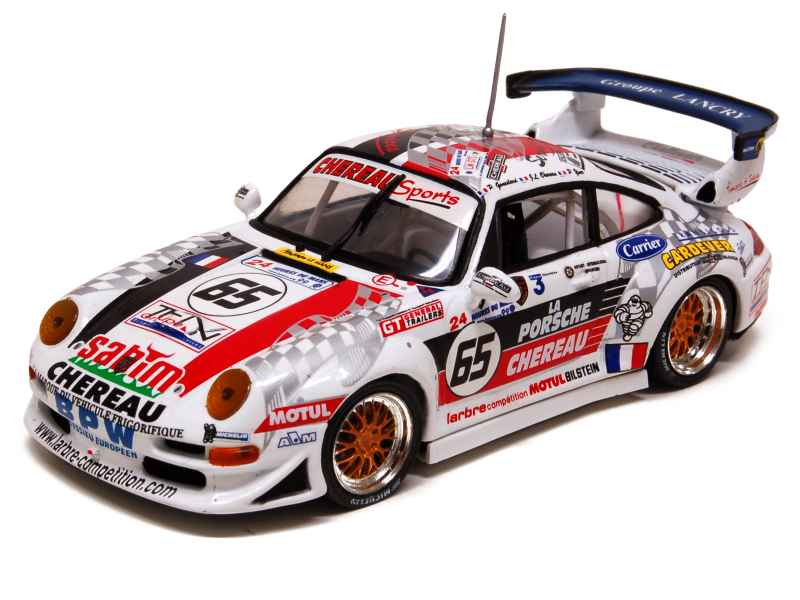 porsche 911 993 gt2 le mans 1999 onyx 1 43 autos miniatures tacot. Black Bedroom Furniture Sets. Home Design Ideas