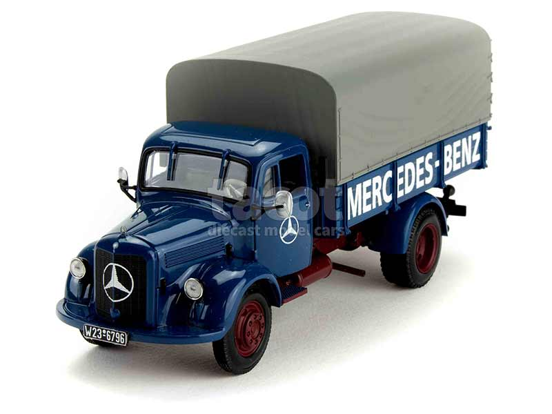 30528 Mercedes L 3500 Canvas 1950