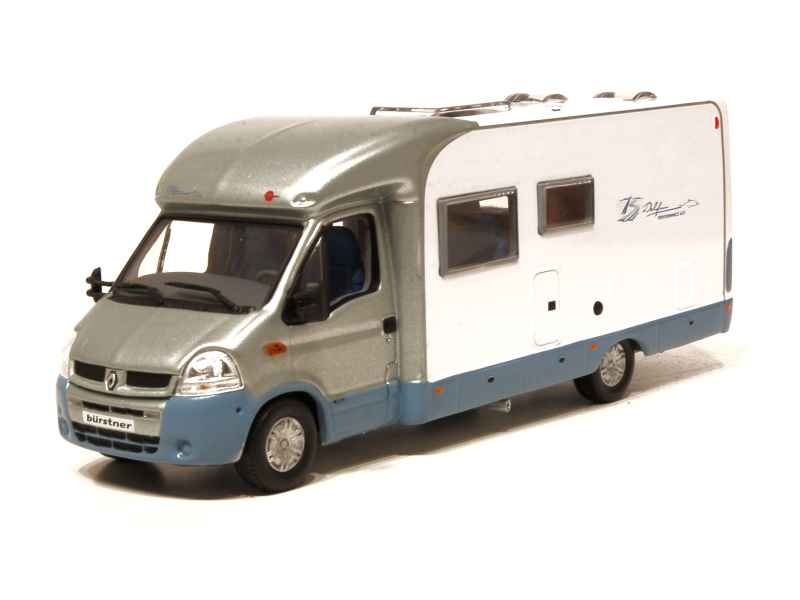 renault master ii camping car 2005 norev 1 43 autos miniatures tacot. Black Bedroom Furniture Sets. Home Design Ideas