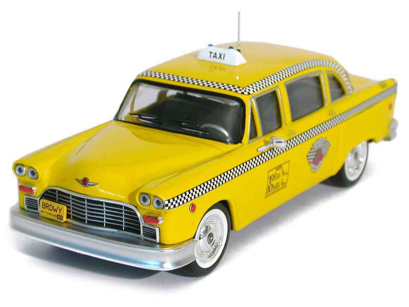 36345 Checker Cab Taxi New York