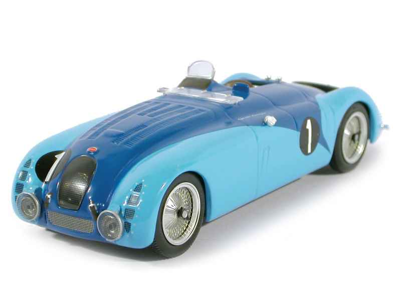 bugatti type 57g le mans 1937 ixo 1 43 autos miniatures tacot. Black Bedroom Furniture Sets. Home Design Ideas