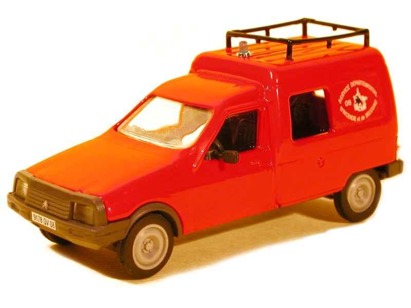 citro n c15 pompiers eligor 1 43 autos miniatures tacot. Black Bedroom Furniture Sets. Home Design Ideas