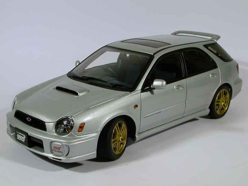 Subaru - Impreza WRX STi Wagon 2001 - AUTOart - 1/18 ...