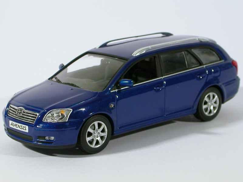 toyota avensis break 2002 minichamps 1 43 autos. Black Bedroom Furniture Sets. Home Design Ideas