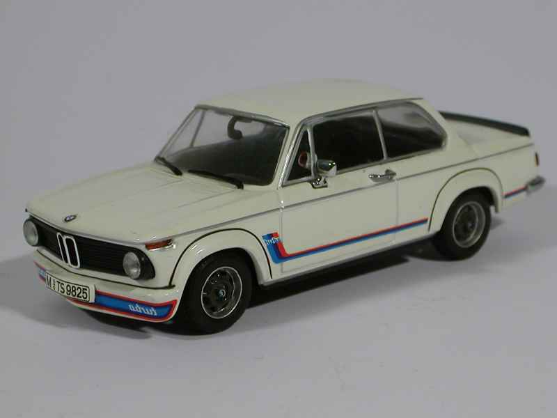 bmw 2002 turbo e20 1973 minichamps 1 43 autos miniatures tacot. Black Bedroom Furniture Sets. Home Design Ideas