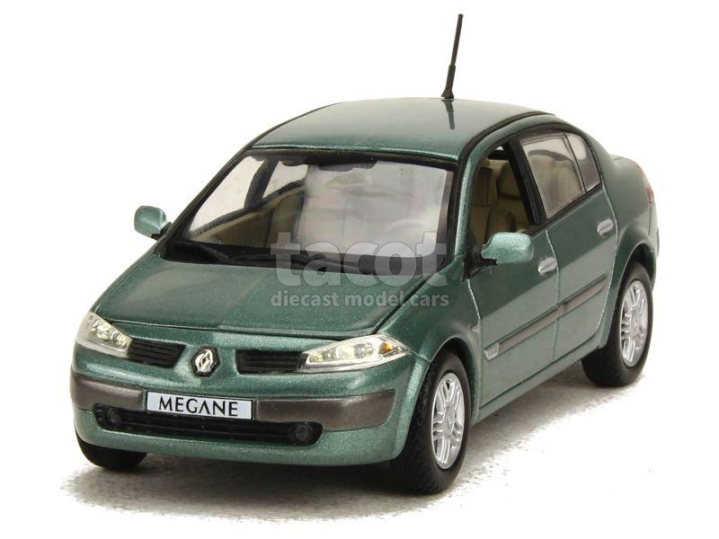 renault megane ii berline 2003 norev 1 43 autos miniatures tacot. Black Bedroom Furniture Sets. Home Design Ideas