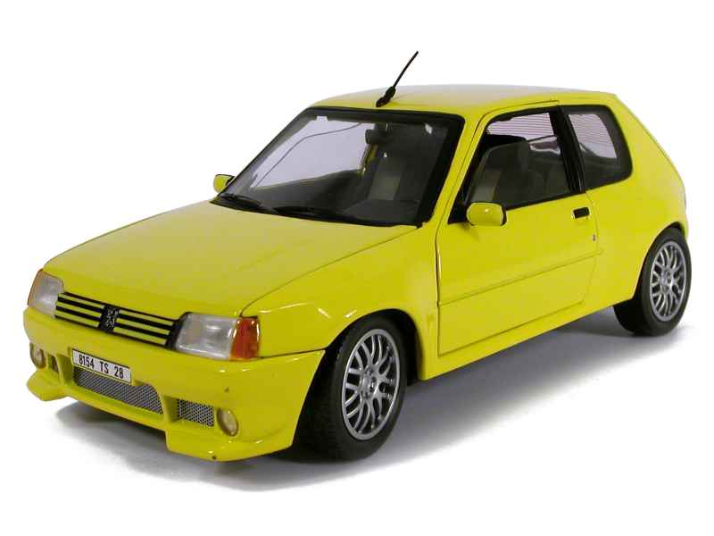 Peugeot 205 GTi Tuning 1990 Solido 1 18 Autos Miniatures Tacot