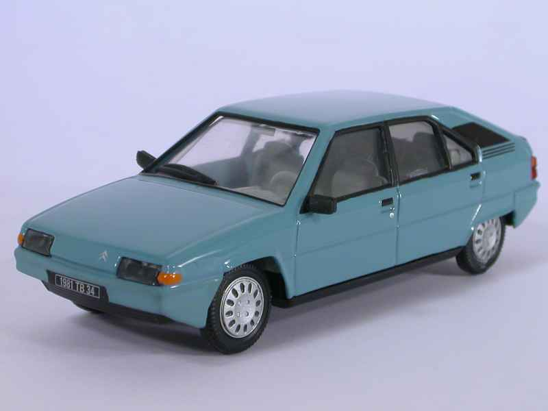 citro n bx 16 trs norev 1 43 autos miniatures tacot. Black Bedroom Furniture Sets. Home Design Ideas