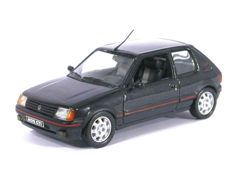 peugeot 205 gti 1 9l norev 1 43 autos miniatures tacot. Black Bedroom Furniture Sets. Home Design Ideas