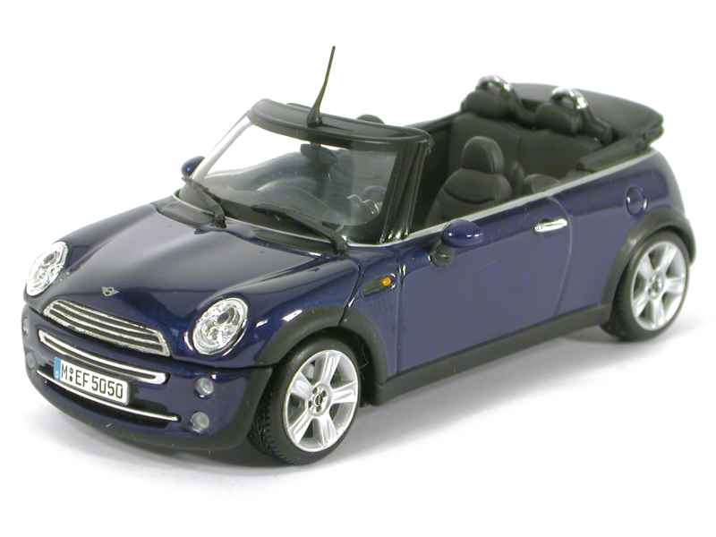 mini cooper cabriolet 2003 minichamps 1 43 autos miniatures tacot. Black Bedroom Furniture Sets. Home Design Ideas