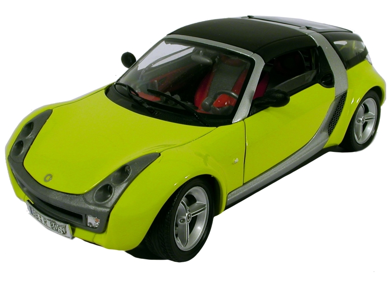 smart roadster coup 2003 burago 1 18 autos miniatures tacot. Black Bedroom Furniture Sets. Home Design Ideas