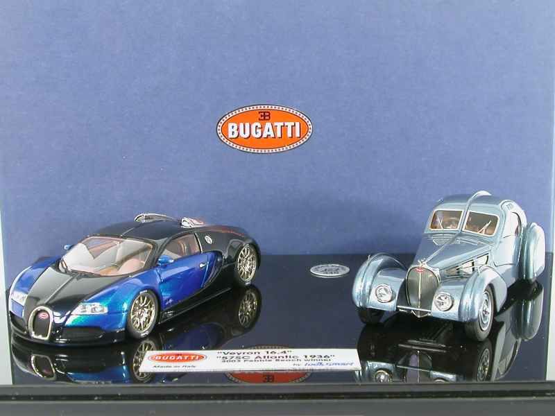 bugatti veyron 16 4 57 sc looksmart 1 43 autos miniatures tacot. Black Bedroom Furniture Sets. Home Design Ideas