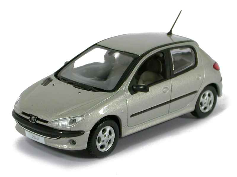 Peugeot 206 Berline Xt Premium 2003 Norev 1 43