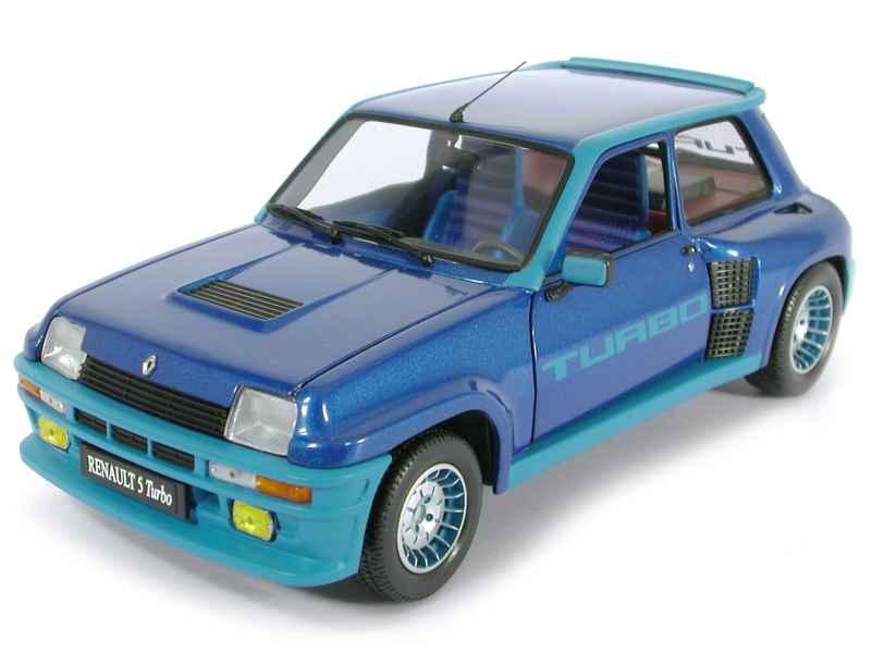 renault r5 turbo i universal hobbies 1 18 autos miniatures tacot. Black Bedroom Furniture Sets. Home Design Ideas