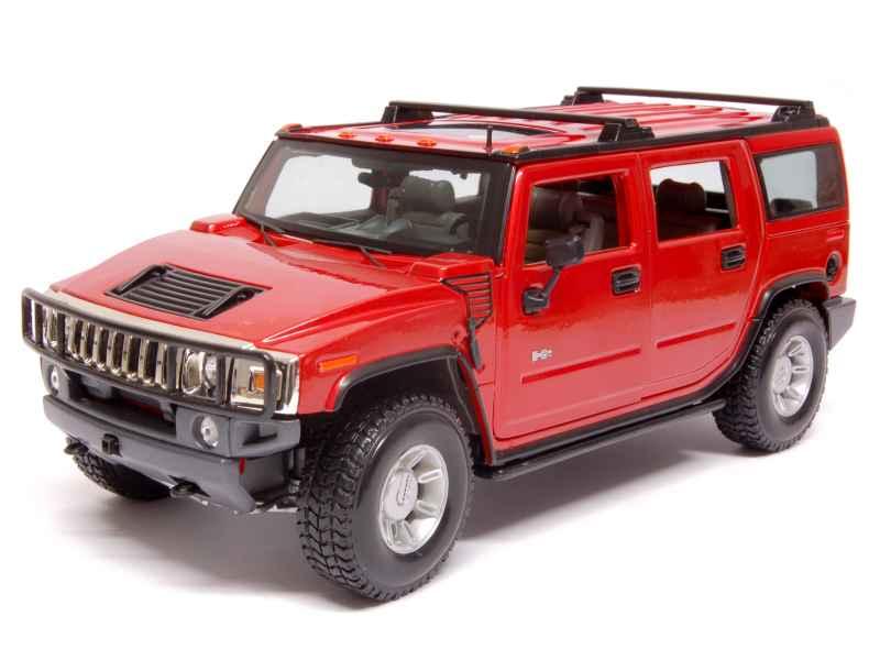 hummer h2 suv 2003 maisto 1 18 autos miniatures tacot. Black Bedroom Furniture Sets. Home Design Ideas
