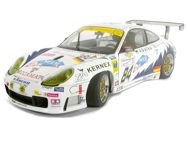 bilkonst - Porsche 911  996 GT3R Le Mans 2003 - 1  18
