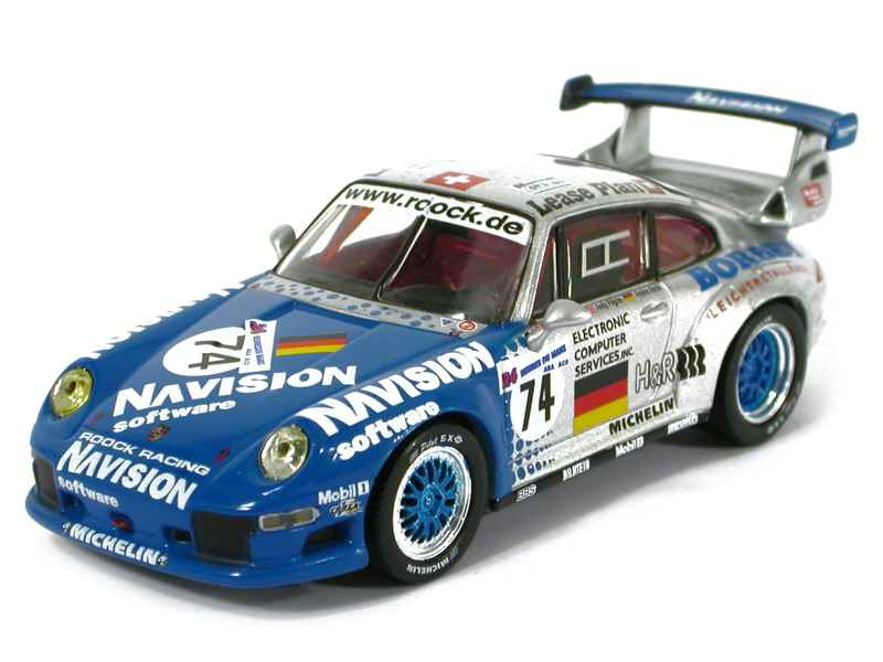 porsche 911 993 gt2 le mans 1997 schuco 1 43 autos miniatures tacot. Black Bedroom Furniture Sets. Home Design Ideas