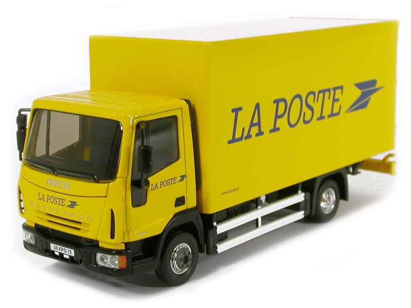 Iveco eurocargo poste eligor 1 43 autos miniatures for Suivi de courrier demenagement la poste