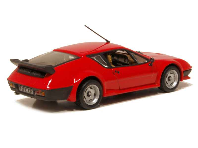 alpine a310 v6 pack gt 1983 universal hobbies 1 43 autos miniatures tacot. Black Bedroom Furniture Sets. Home Design Ideas