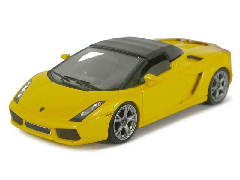 lamborghini gallardo spyder looksmart 1 43 autos miniatures tacot. Black Bedroom Furniture Sets. Home Design Ideas