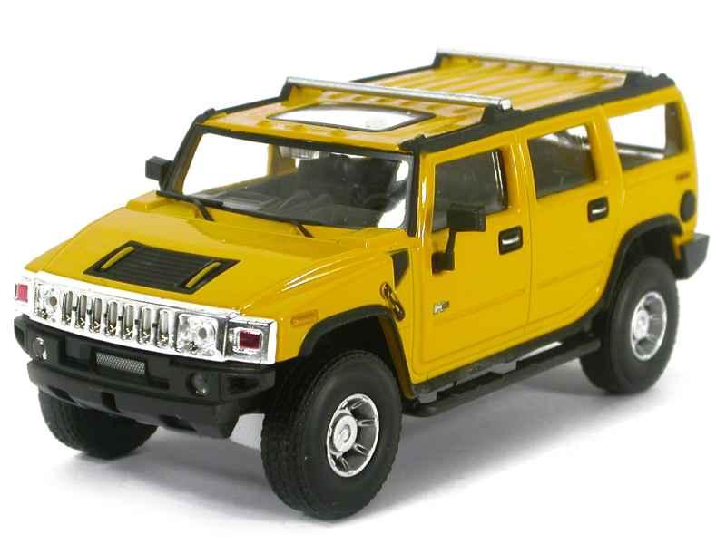 hummer h2 2005 cararama 1 43 autos miniatures tacot. Black Bedroom Furniture Sets. Home Design Ideas