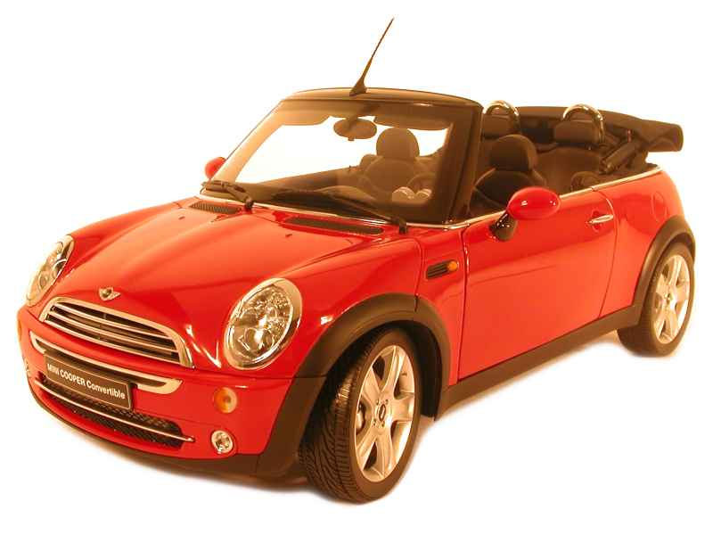 mini cooper cabriolet 2005 kyosho 1 12 autos miniatures tacot. Black Bedroom Furniture Sets. Home Design Ideas