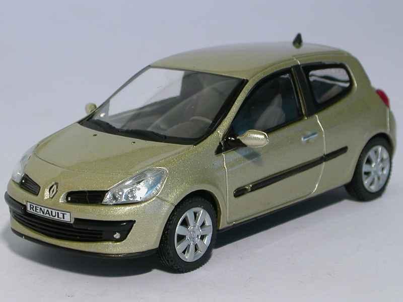 renault clio iii 3 doors 2005 eligor 1 43 autos miniatures tacot. Black Bedroom Furniture Sets. Home Design Ideas