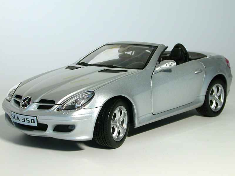 mercedes slk 350 r171 welly 1 18 autos miniatures. Black Bedroom Furniture Sets. Home Design Ideas