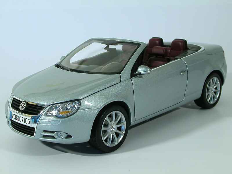 volkswagen eos cabriolet 2006 norev 1 18 autos miniatures tacot. Black Bedroom Furniture Sets. Home Design Ideas