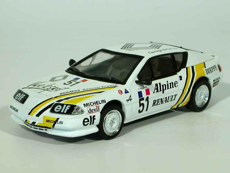 alpine gta europa cup norev 1 43 autos miniatures tacot. Black Bedroom Furniture Sets. Home Design Ideas