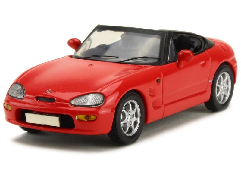 suzuki cappuccino 1992 spark model 1 43 autos miniatures tacot. Black Bedroom Furniture Sets. Home Design Ideas