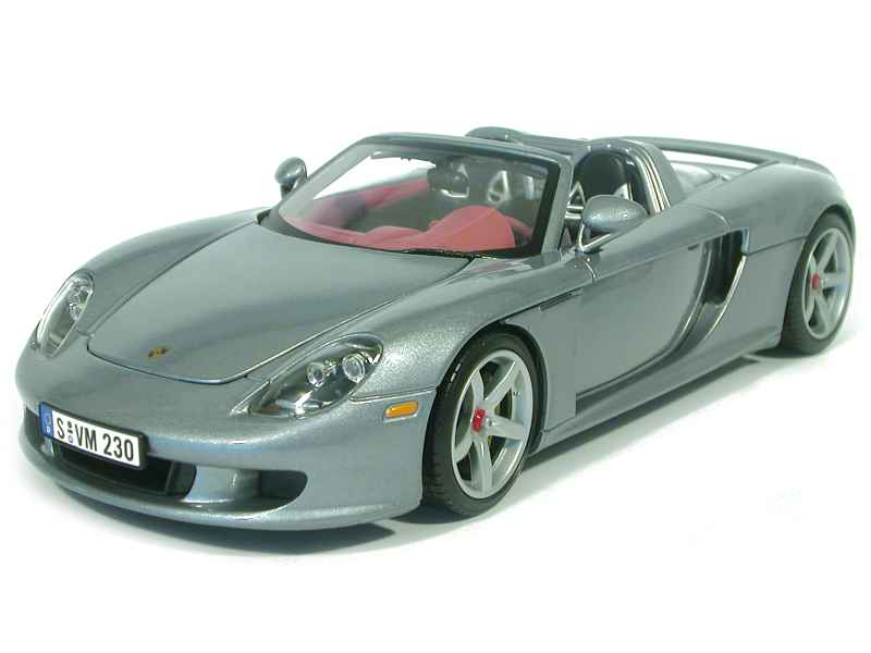 porsche carrera gt 2003 motor max 1 18 autos miniatures tacot. Black Bedroom Furniture Sets. Home Design Ideas