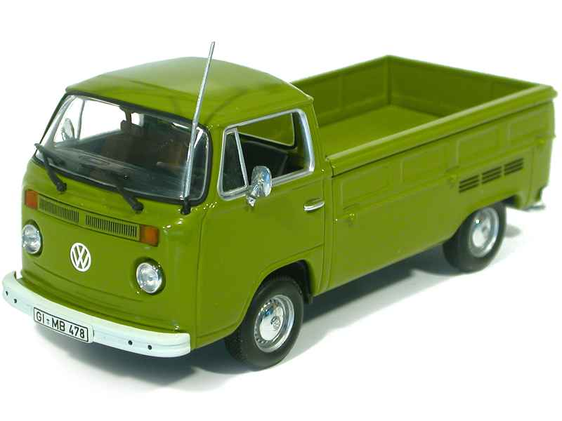 minichamps volkswagen combi t2 pick up 1972 1 43 ebay. Black Bedroom Furniture Sets. Home Design Ideas