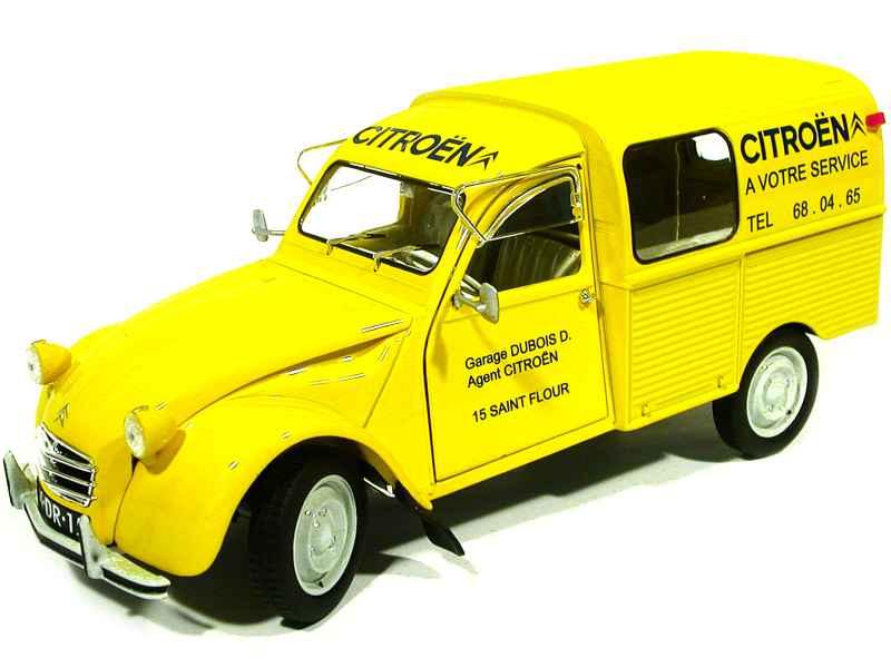 citro n 2cv fourgonnette 1969 solido 1 18 autos miniatures tacot. Black Bedroom Furniture Sets. Home Design Ideas