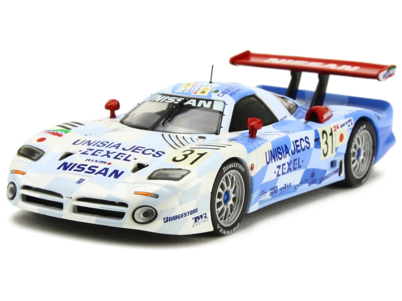 nissan r390 gt1 le mans 1998 ixo 1 43 autos miniatures tacot. Black Bedroom Furniture Sets. Home Design Ideas