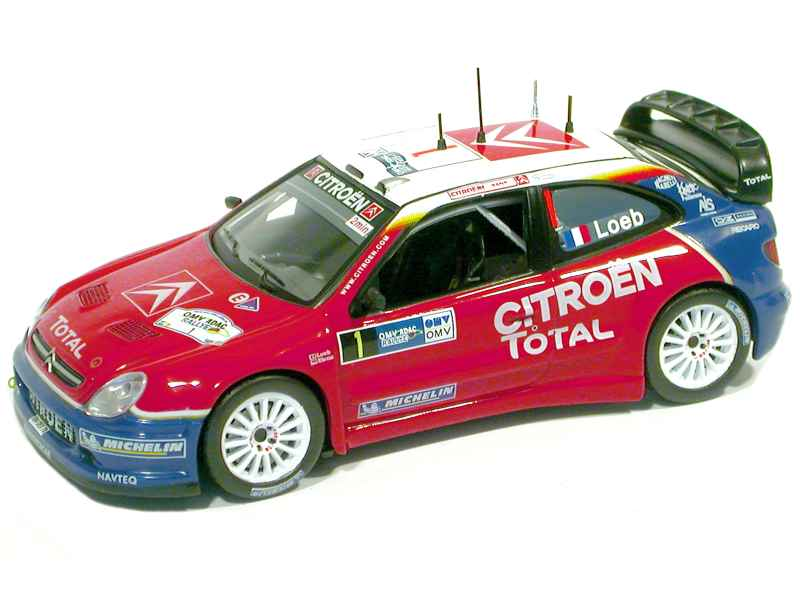 48082 Citroën Xsara WRC German Rally 2005