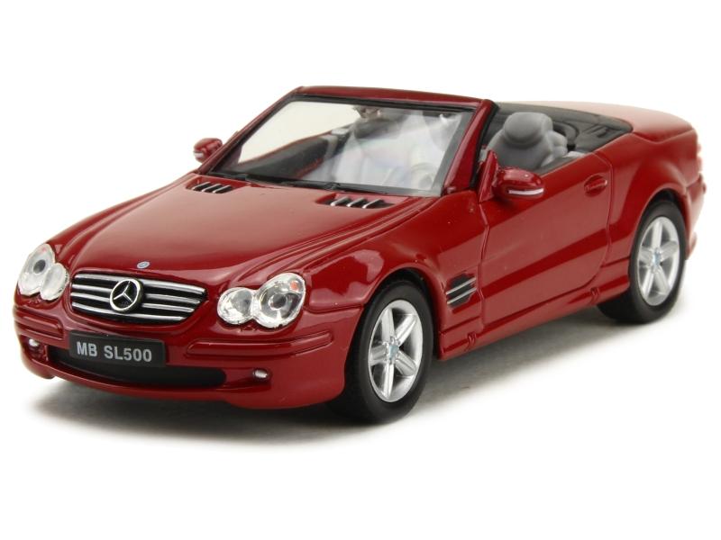 mercedes sl 500 r230 2001 welly 1 43 autos. Black Bedroom Furniture Sets. Home Design Ideas